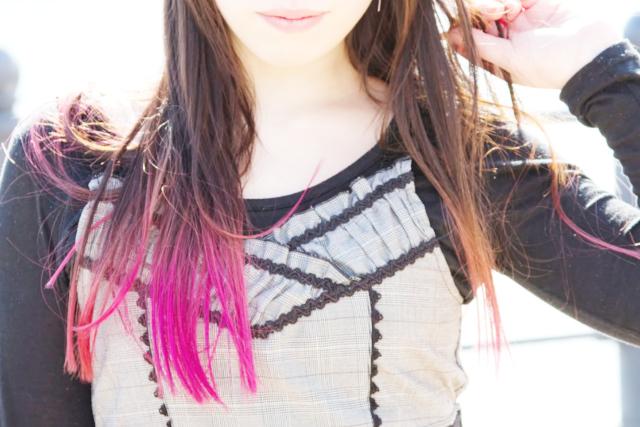 髪質と似合う色